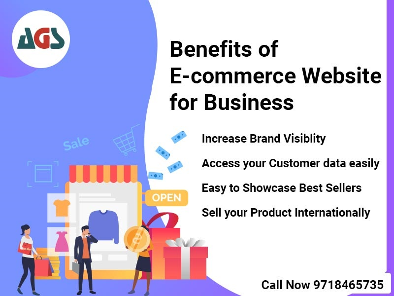 What are the Benefits of E-Commerce Website For a Business ??