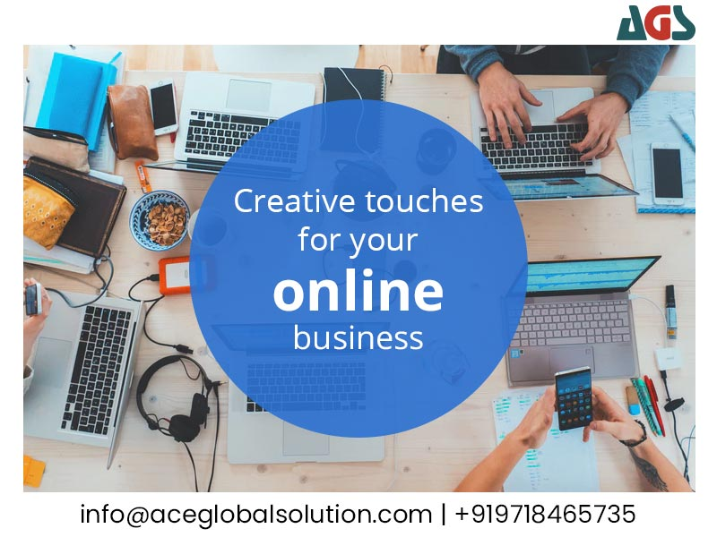 Creative Touches for your Online Business