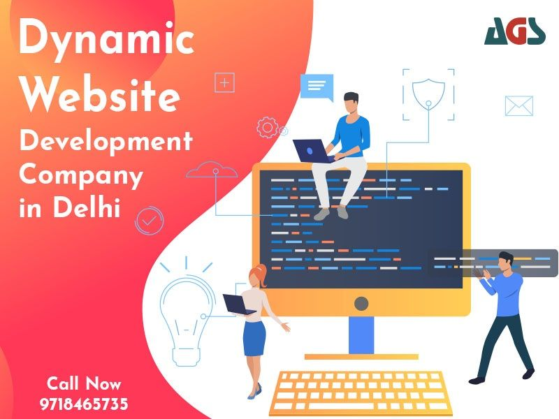 Dynamic Website Development Company in Delhi