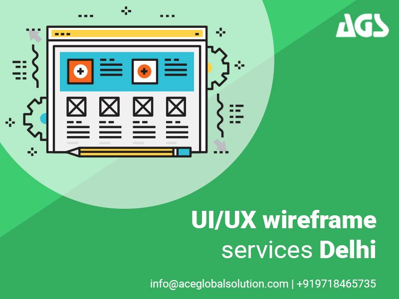 UI/UX wireframe