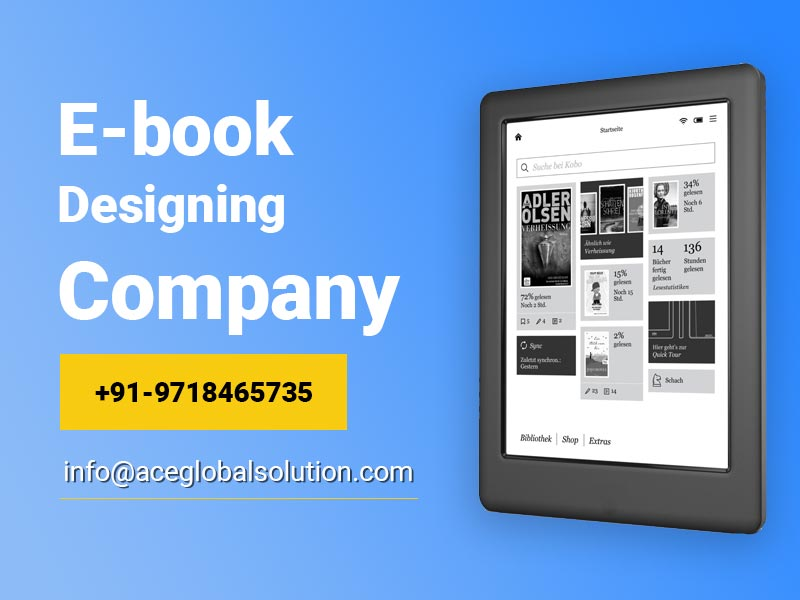 Ebook Designing Company in Delhi